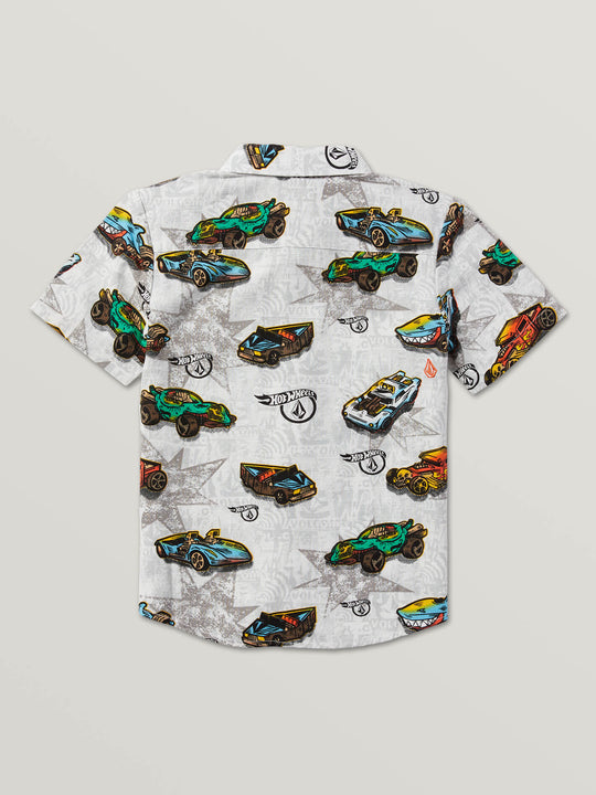 Little Boys Hot Wheels™ Roller Short Sleeve Shirt