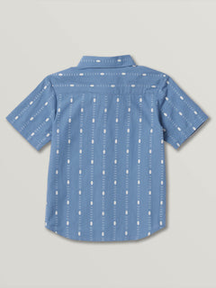 Little Boys Bonga Stripe Short Sleeve - Blue Rinse (Y0441904_RNE) [B]