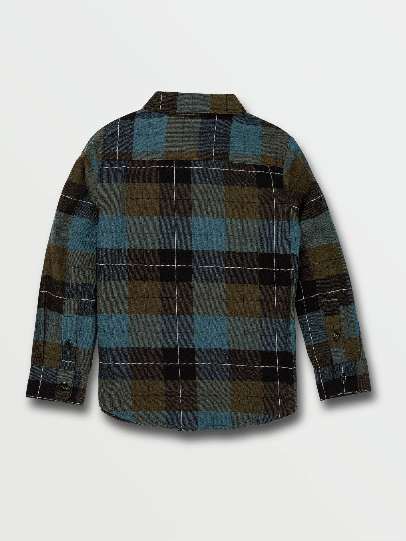 Fatigue//Green,Size 10 Avalanche Toddler Boys Long Sleeve Flannel Plaid Shirt with Twill Cargo Pants 2-Piece Set