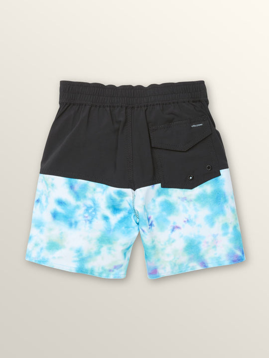 Little Boys Vibes Elastic Boardshorts