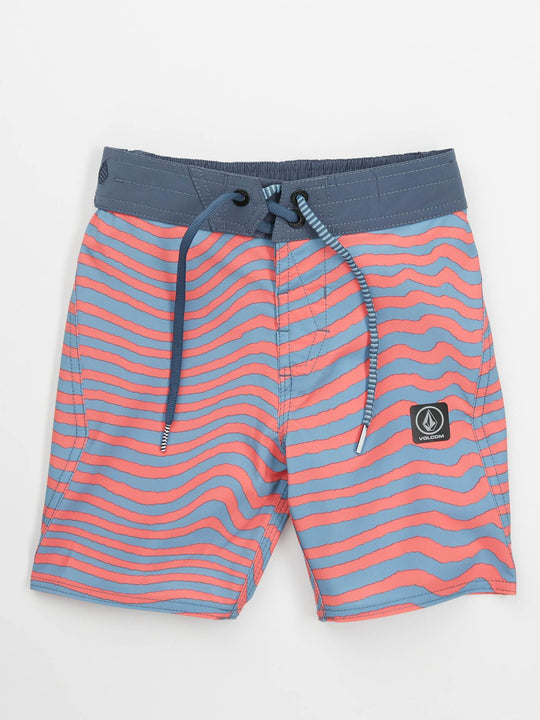 Little Boys Mag Vibes Elastic Boardshorts