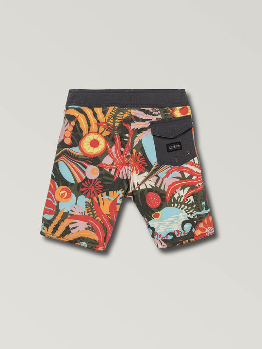 Little Boys Tripped Boardshorts