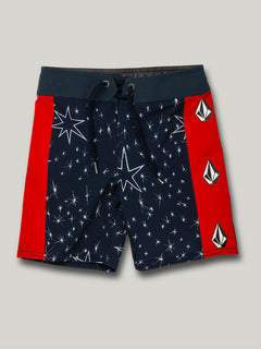Little Boys Stars And Stones Mod-Tech - Navy (Y0822032_NVY) [F]