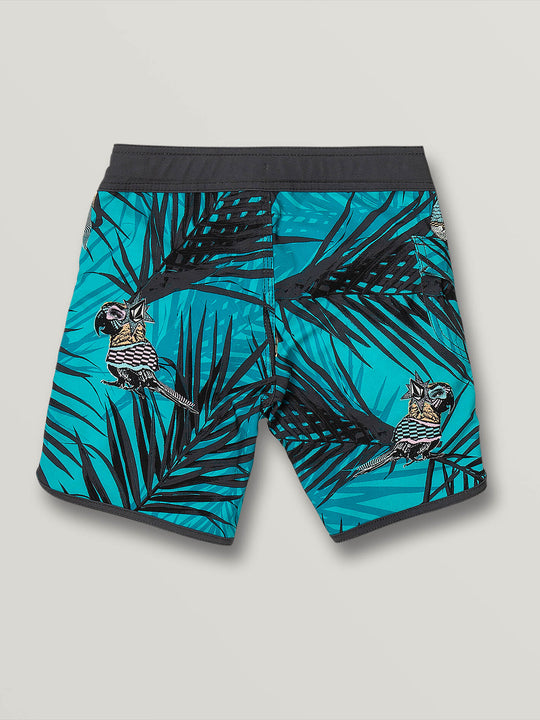Little Boys Parrot Mod-Tech Trunks - Chlorine (Y0831904_CHL) [B]