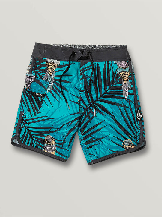 Little Boys Parrot Mod-Tech Trunks - Chlorine (Y0831904_CHL) [F]