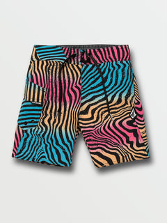Little Boys Filbert Stripe Mod-Tech Trunks - Multi (Y0832030_MLT) [F]