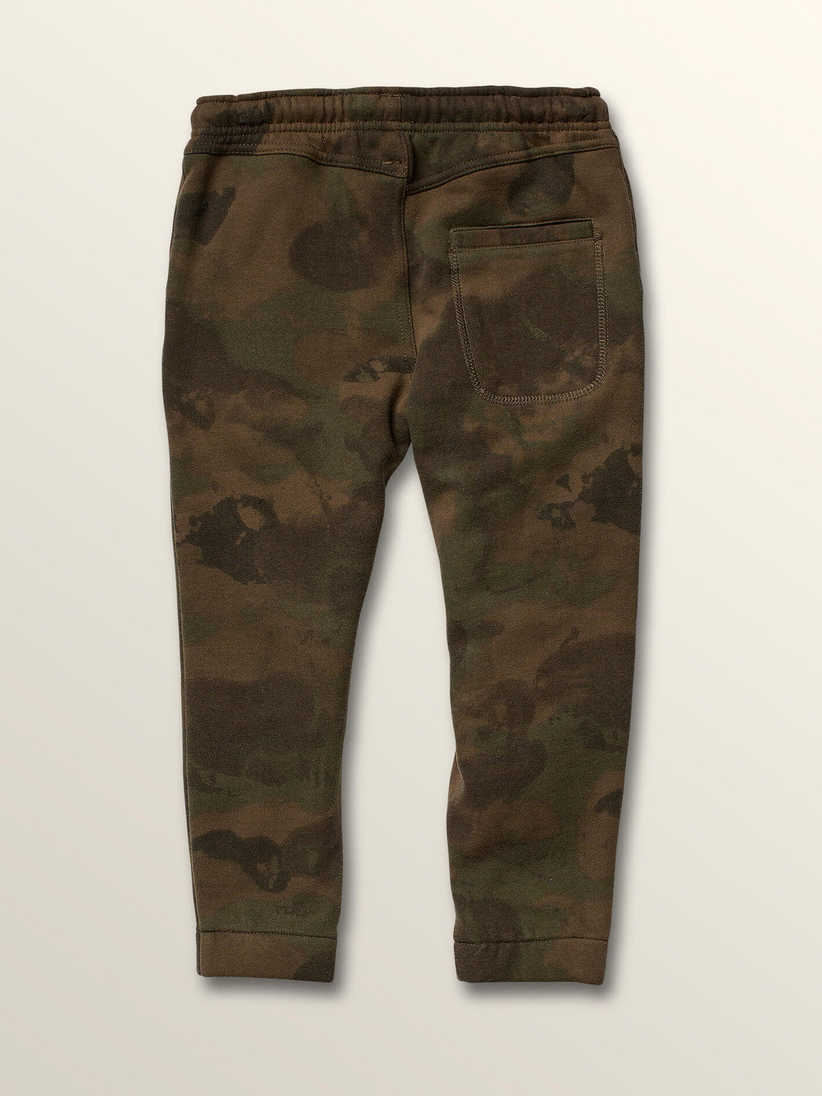 Little Boys Deadly Stones Pants In Camouflage, Back View