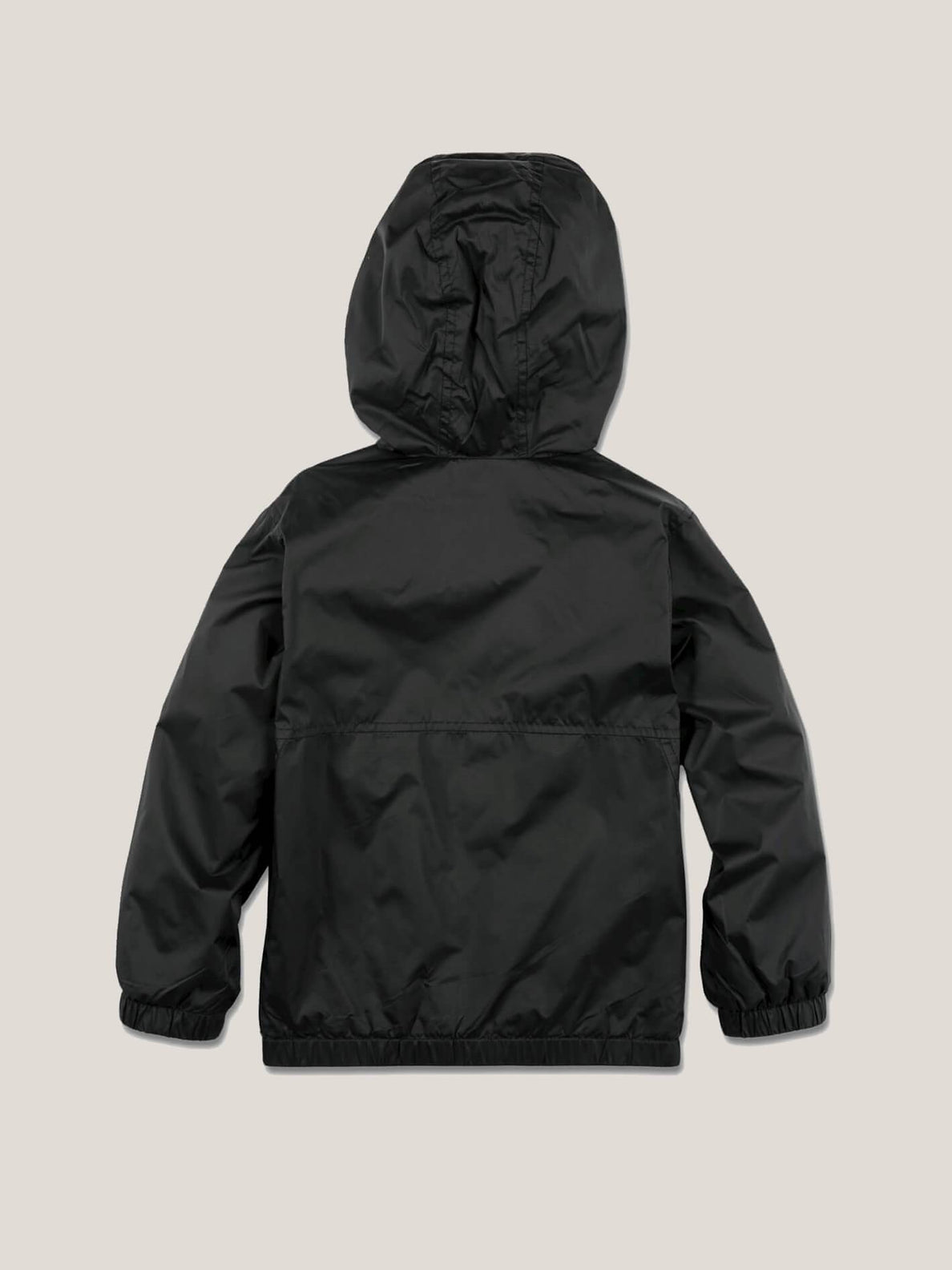 Little Boy's Ermont Jacket In Black, Back View
