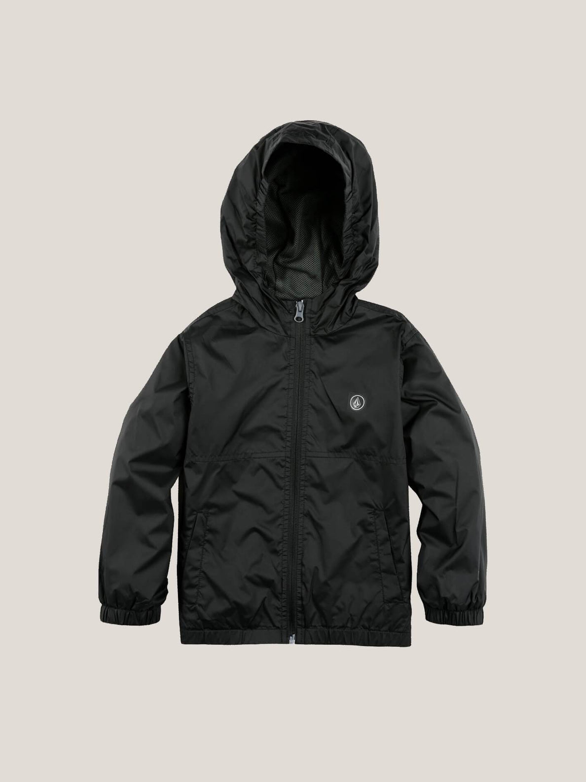 Little Boy's Ermont Jacket In Black, Front View