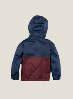 Little Boy's Ermont Jacket In Indigo, Back View