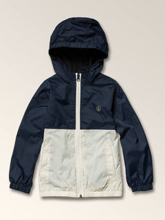 Little Boy's Ermont Jacket In Melindigo, Front View