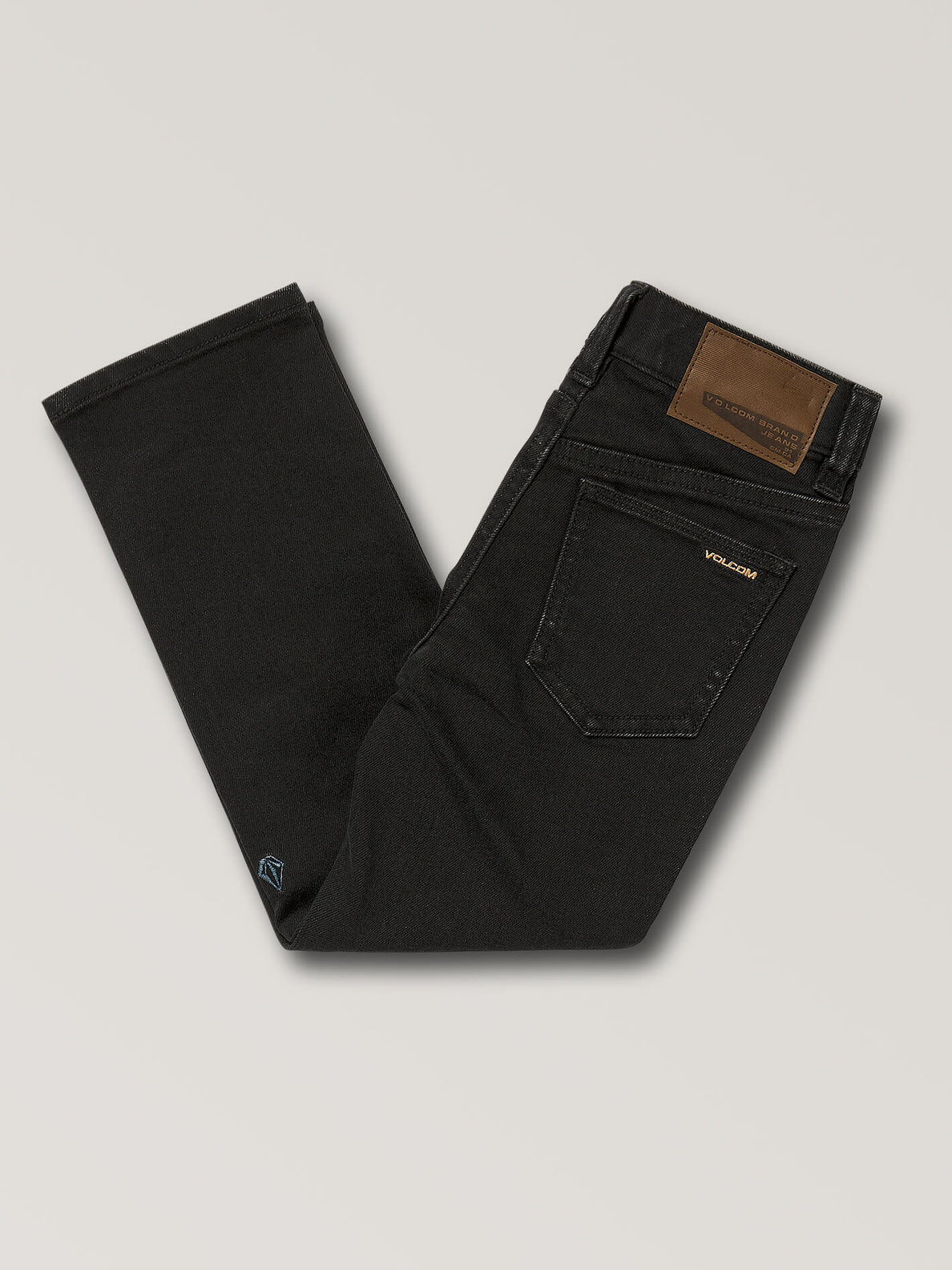 Little Boys Vorta Slim Fit Jeans - Black Out (Y1931501_BKO) [B]