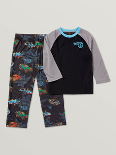 Little Boys Hot Wheels™ Roller PJ Set