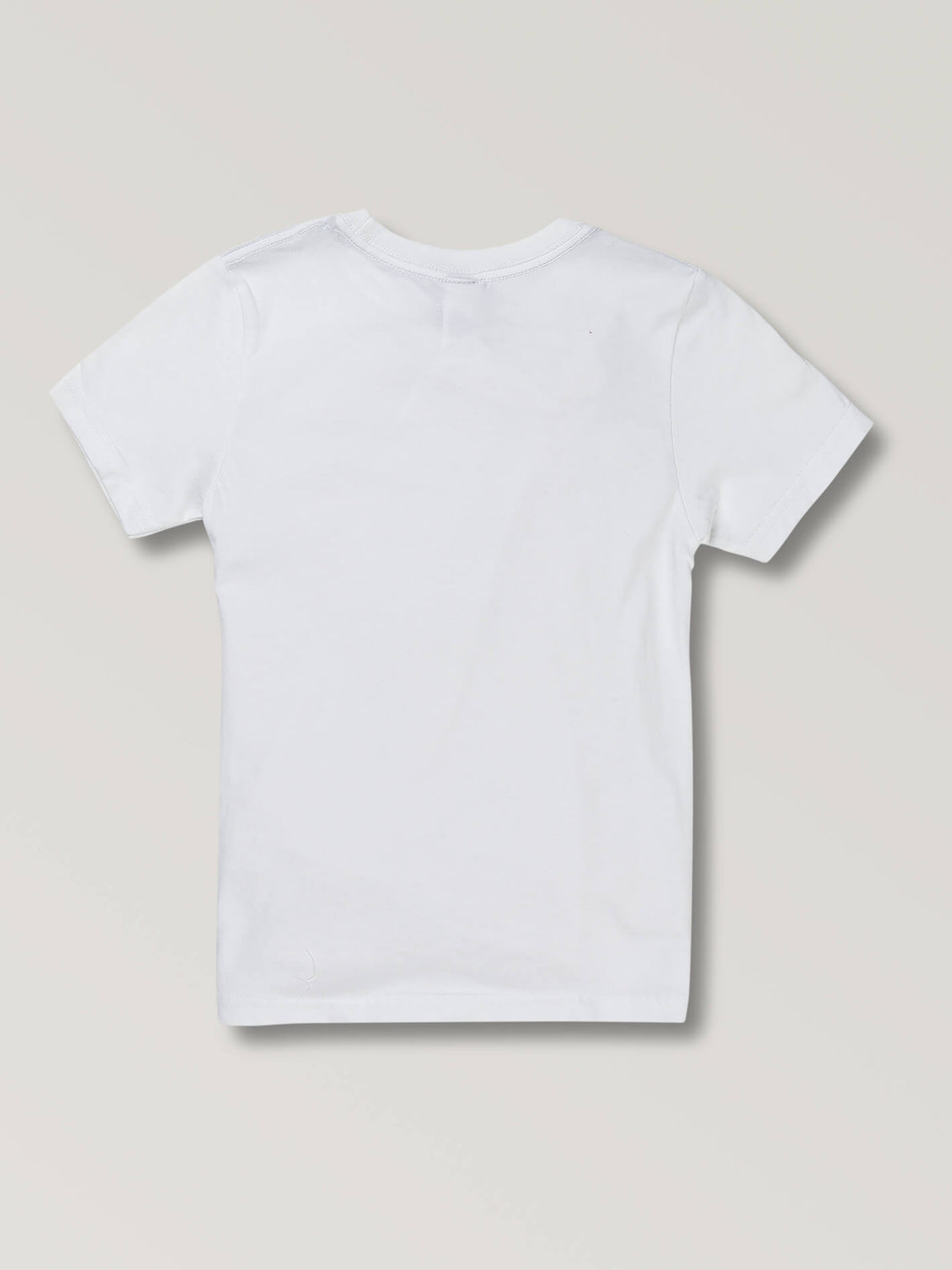 Little Boys Europencil Tee In White, Back View