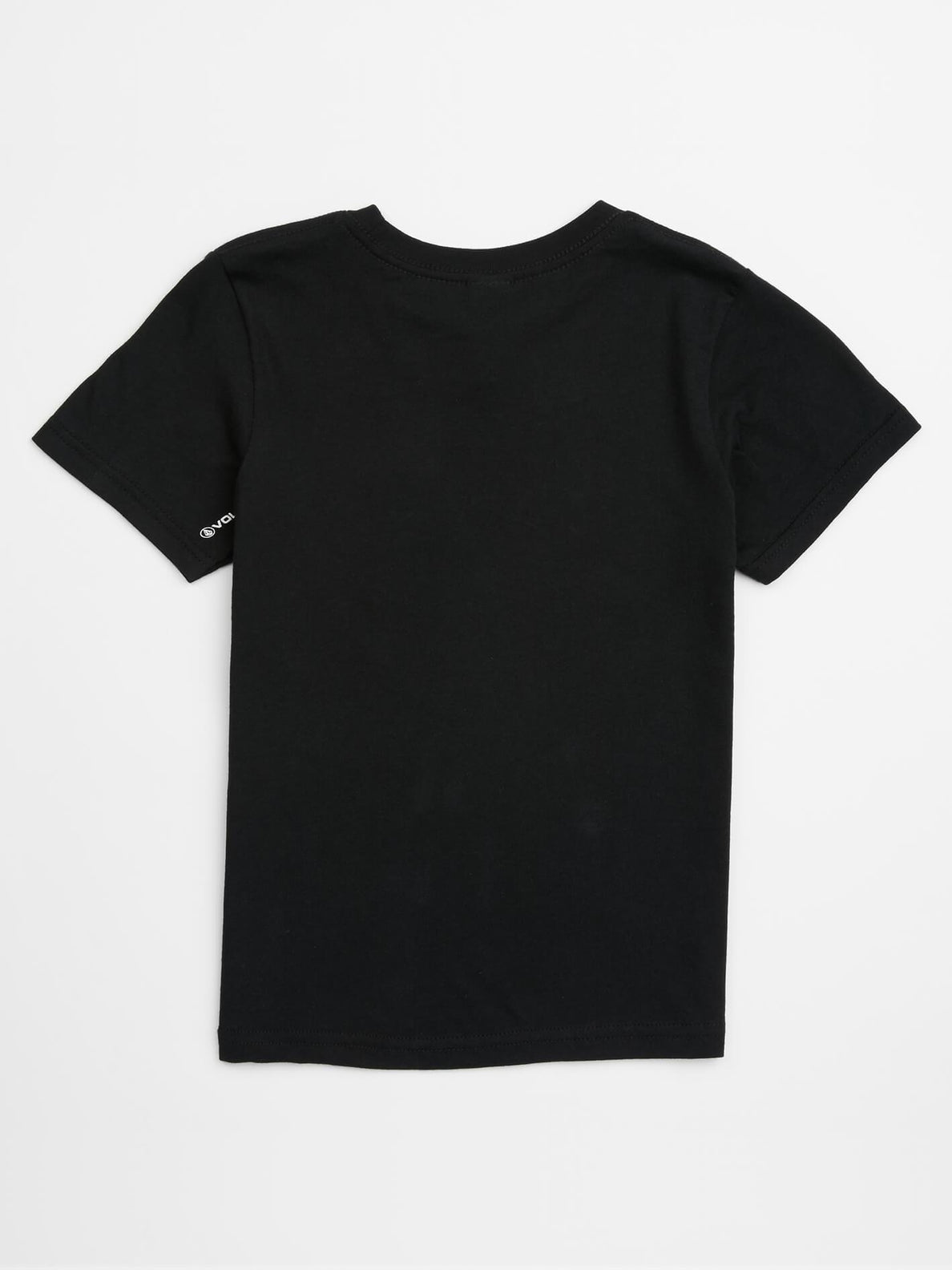 Little Boys Sound Tee In Black, Back View