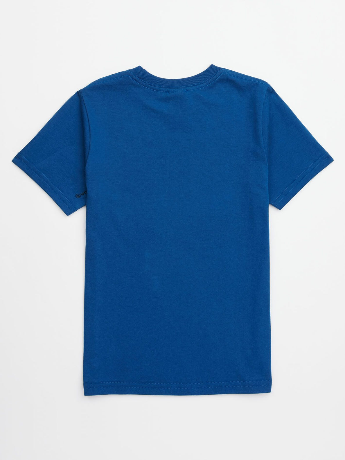 Little Boys Sound Tee In Camper Blue, Back View