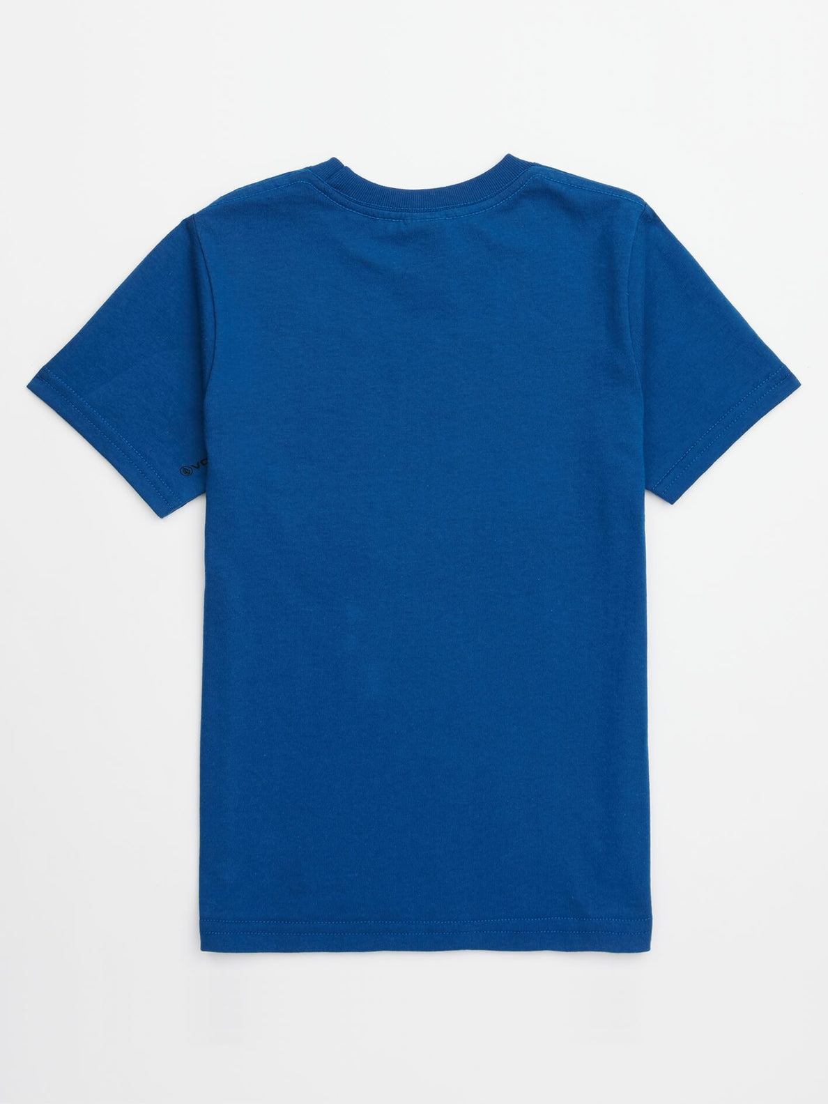 Little Boys Jolly Rebel Tee In Camper Blue, Back View