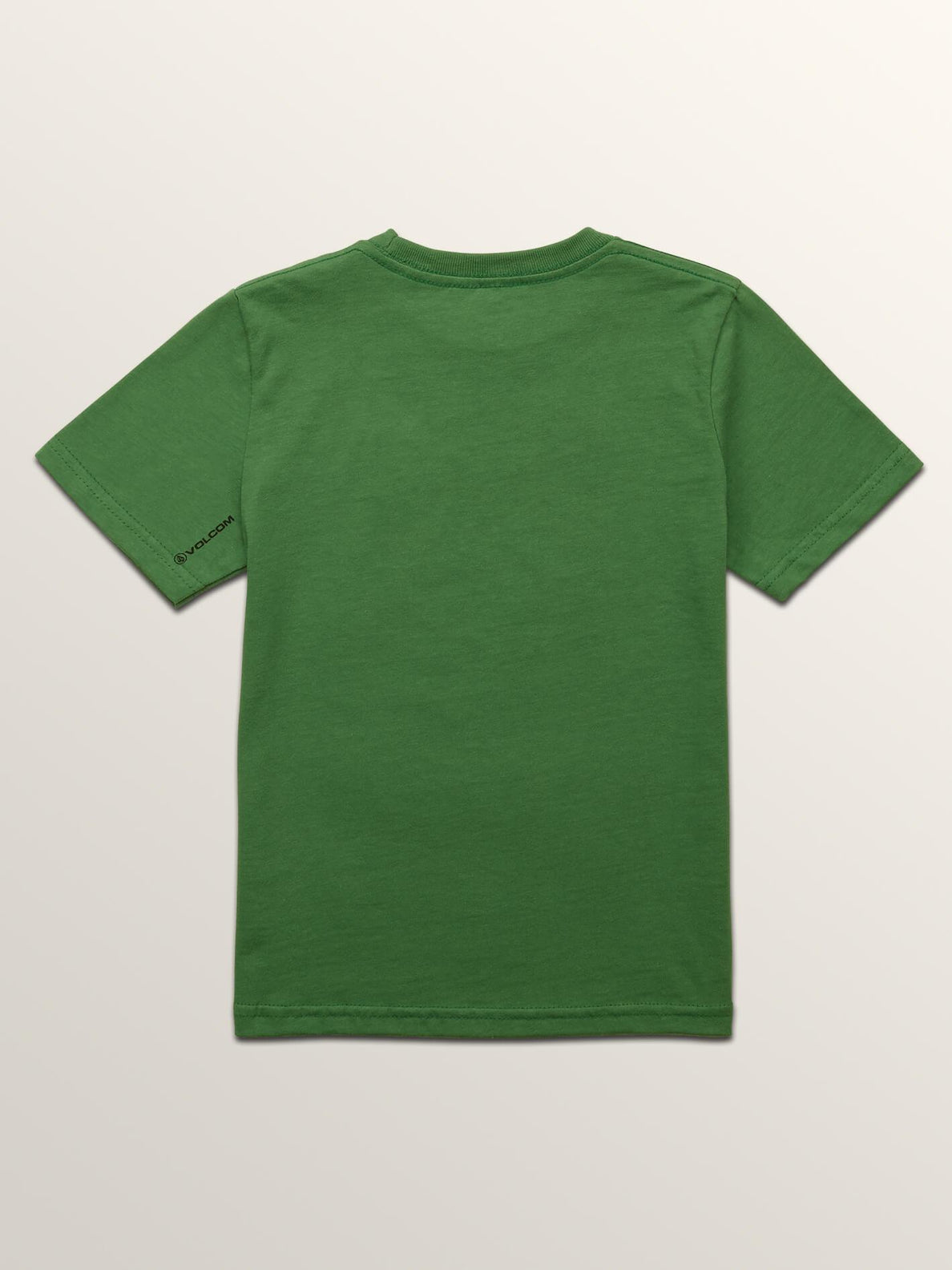 Little Boys Stonar Waves Short Sleeve Tee In Dark Kelly, Back View