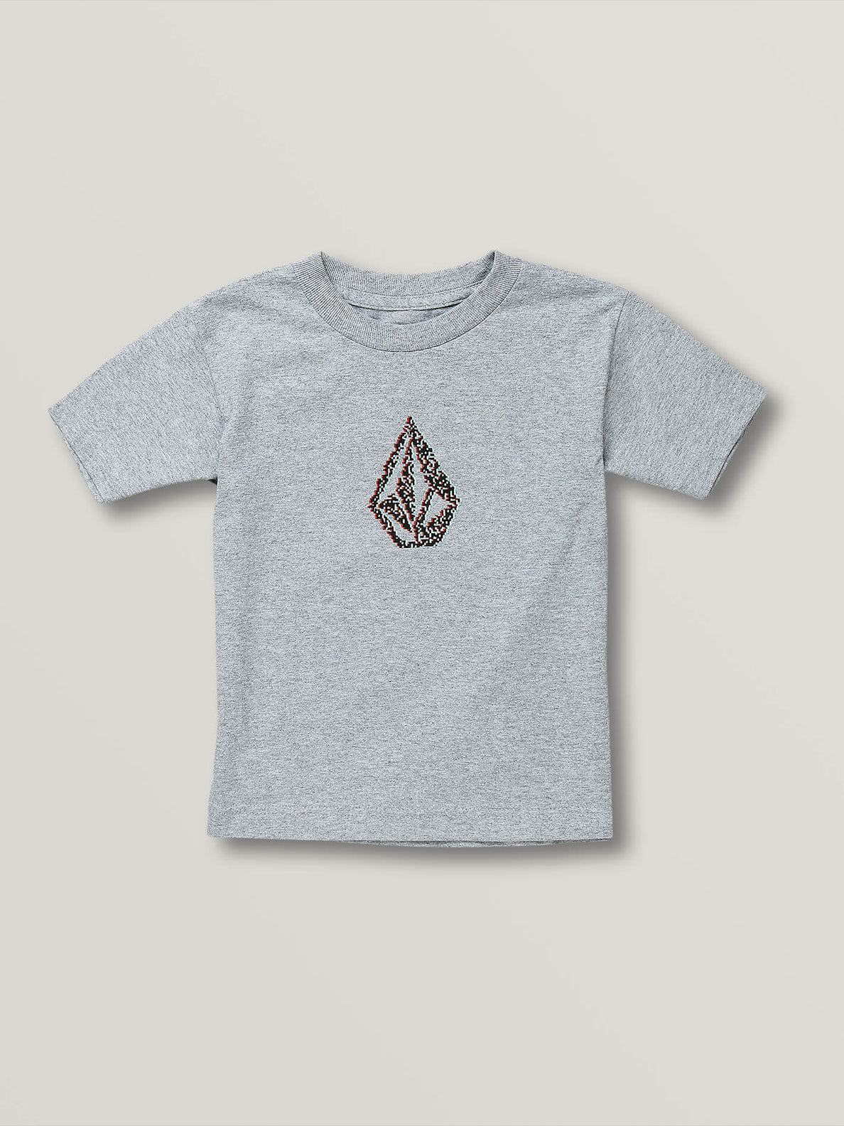 Little Boys Pixo Stone Short Sleeve Tee - Athletic Heather (Y3541900_ATH) [F]