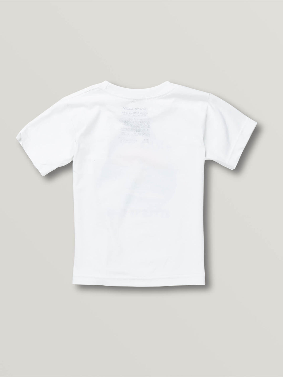 Little Boys Style Is Free Short Sleeve Tee - White (Y3541930_WHT) [B]