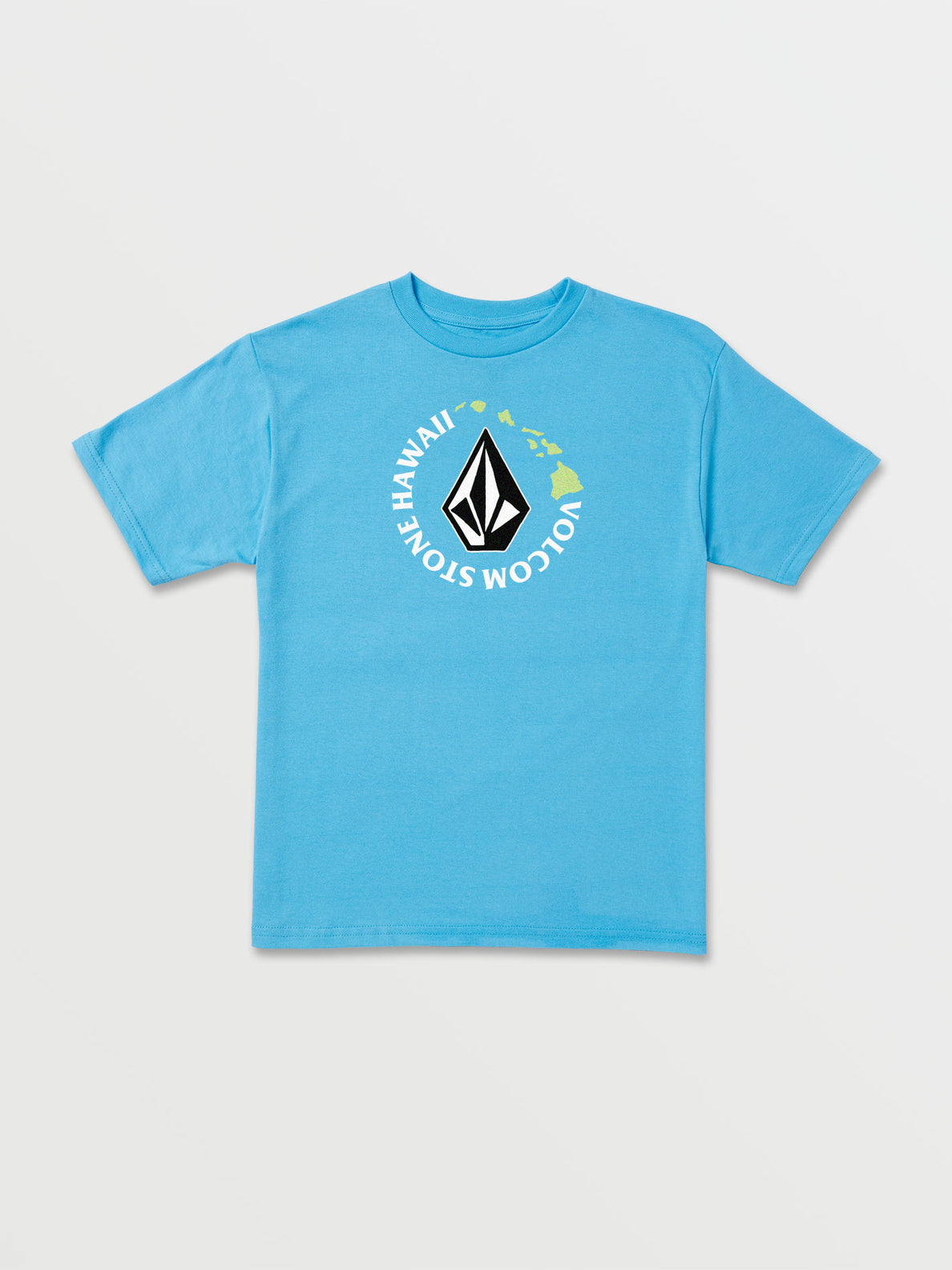 Llittle Boys Series Short Sleeve Tee - Aqua (Y35419H4_AQU) [F]