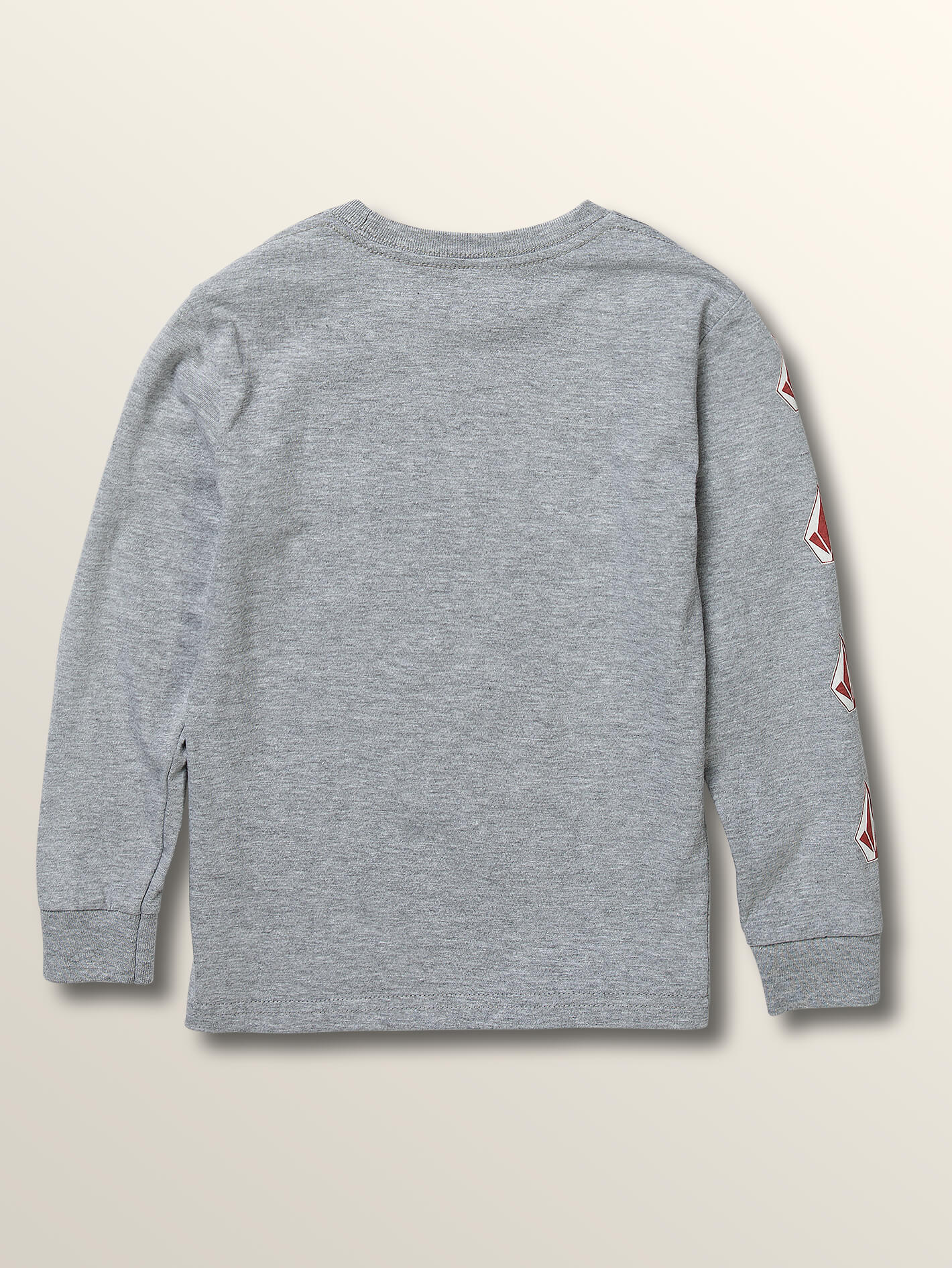 6a0253019 Little Boys Deadly Stones Long Sleeve Tee - Heather Grey in HEATHER GREY -  Alternative View