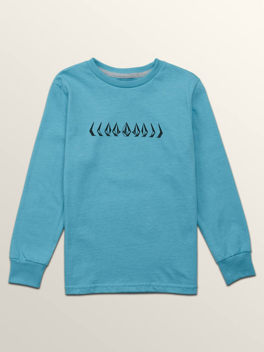 Little Boys Stone Cycle Long Sleeve Tee