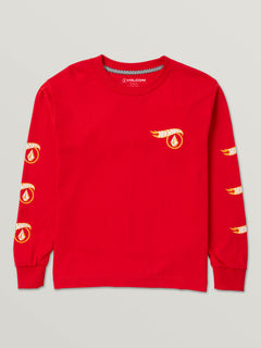 Little Boys Hot Wheels™ X Volcom Long Sleeve Tee