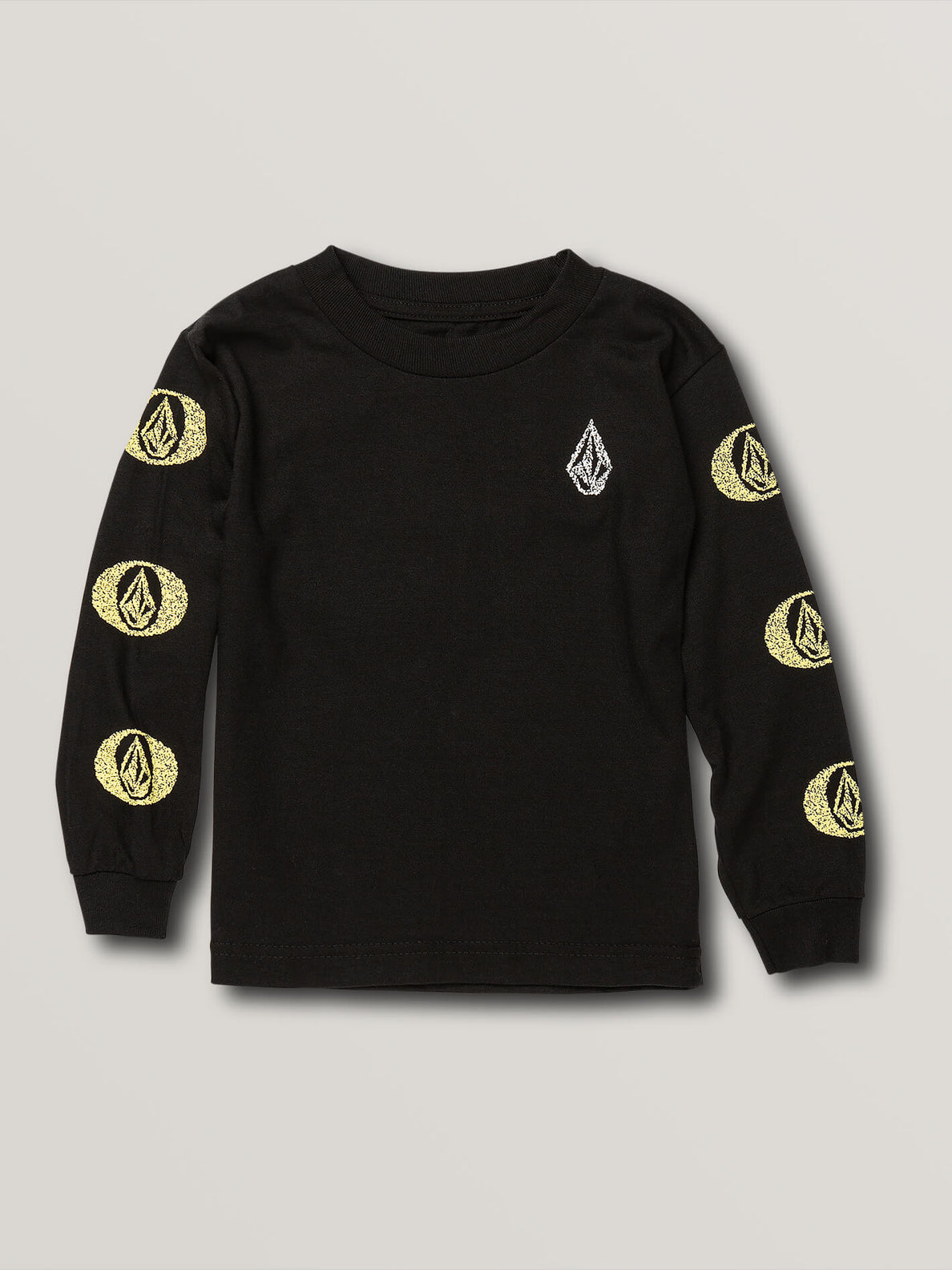 Little Boys Future Stones Long Sleeve Tee - Black (Y3641905_BLK) [F]