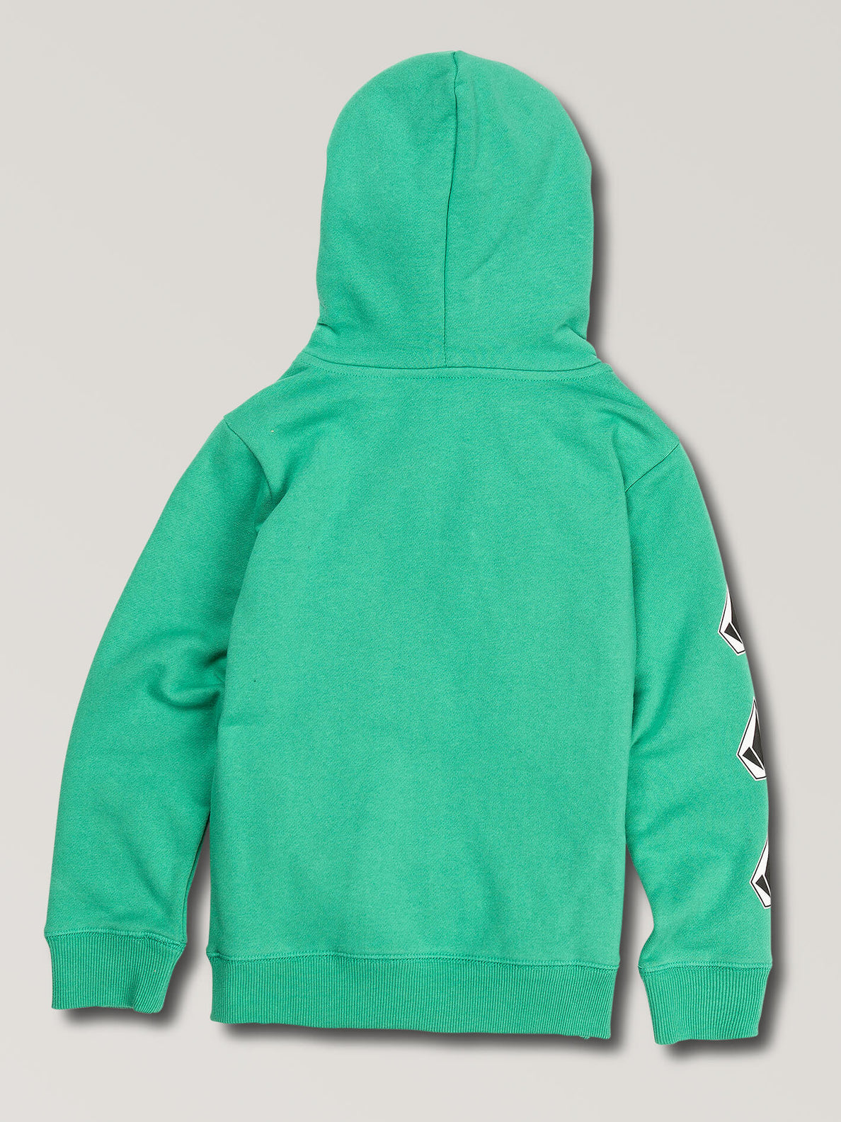Little Boys Deadly Stones Pullover Hoodie In Wintergreen, Back View