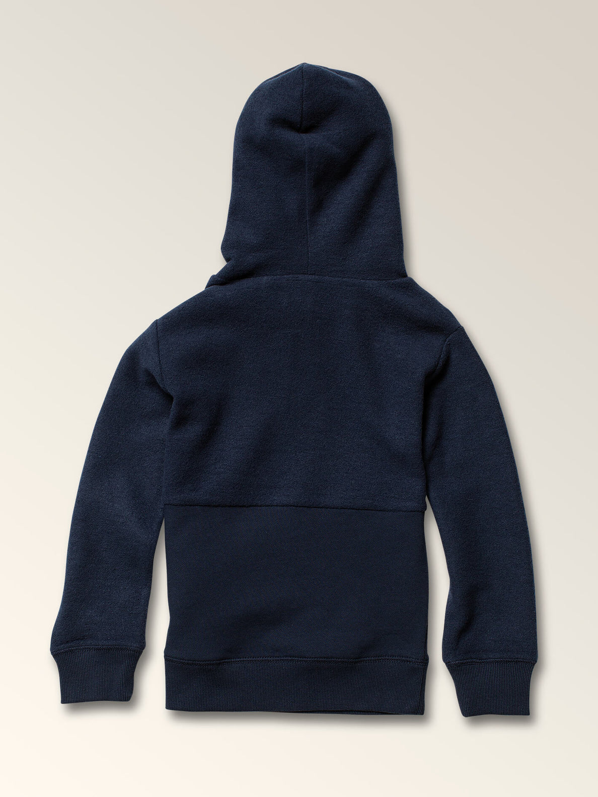 Little Boys Single Stone Sub Division Pullover Hoodie In Melindigo, Back View
