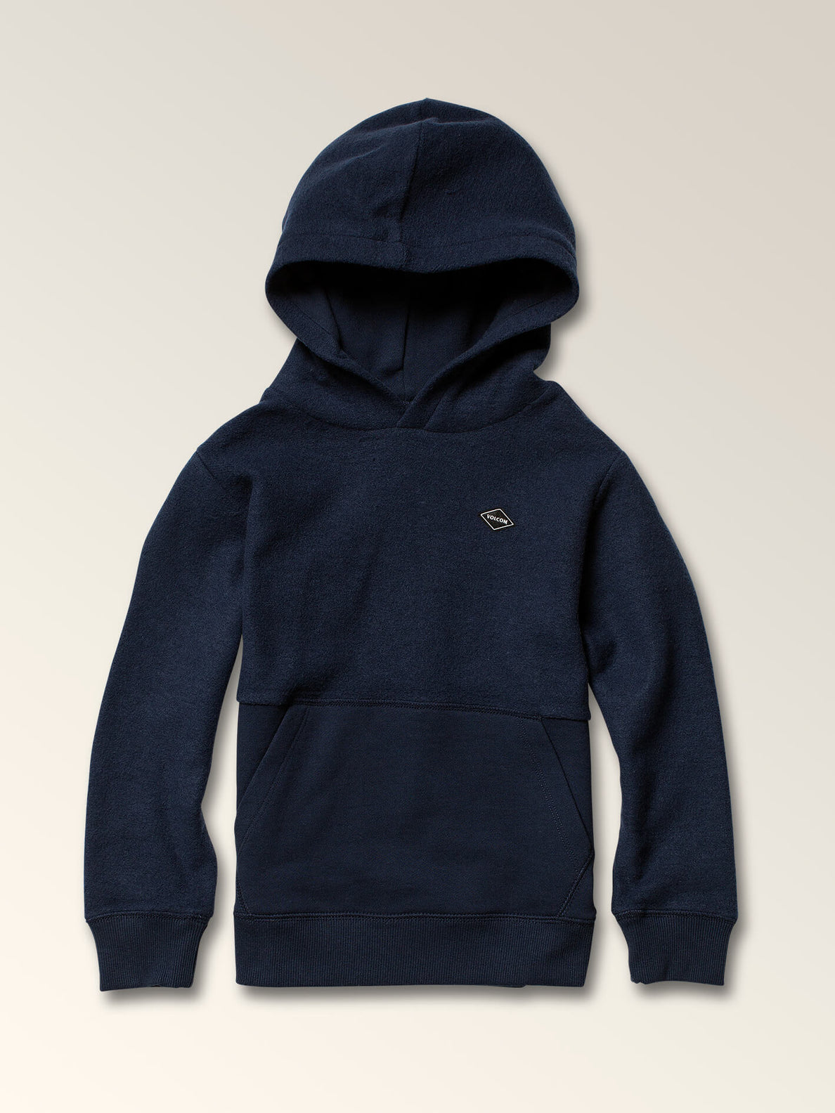 Little Boys Single Stone Sub Division Pullover Hoodie In Melindigo, Front View
