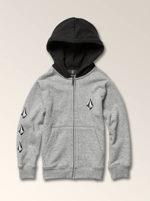 97a591385 Little Boys Deadly Stones Zip Hoodie in BLACK COMBO - Primary View
