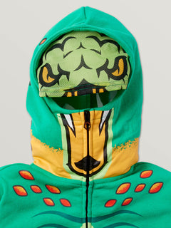 Little Boys Hot Wheels'Ñ¢ Turboa Zip Fleece Hoodie In Green, Alternate View