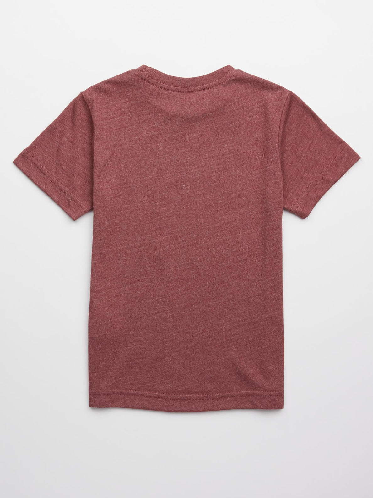 Little Boys Lo Tech Tee In Crimson, Back View