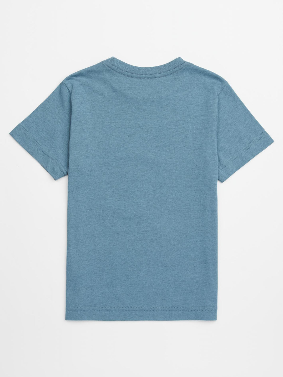 Little Boys Stoker Tee In Wrecked Indigo, Back View