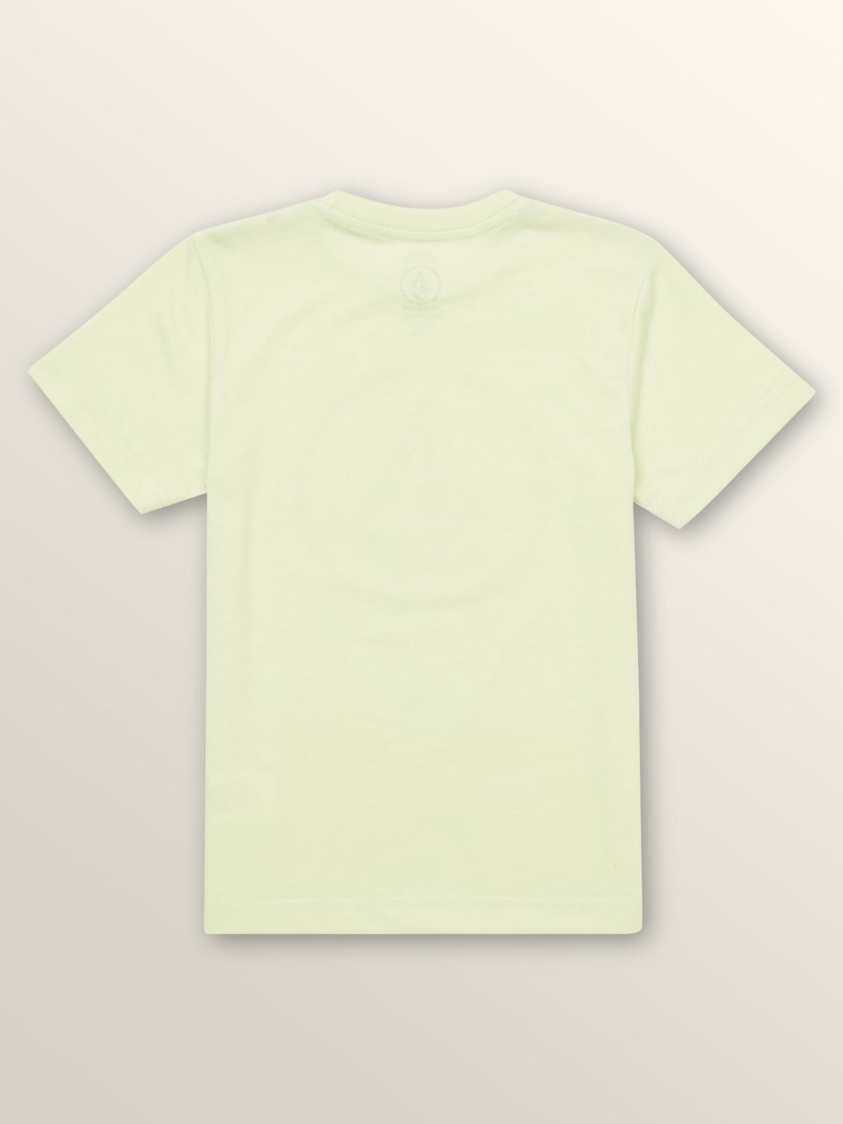 Little Boys Peace Blur Short Sleeve Tee In Mist Green, Back View