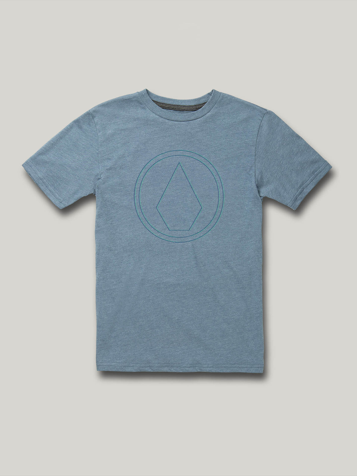 Little Boys Off Pin Short Sleeve Tee - Stormy Blue (Y5722002_STB) [F]