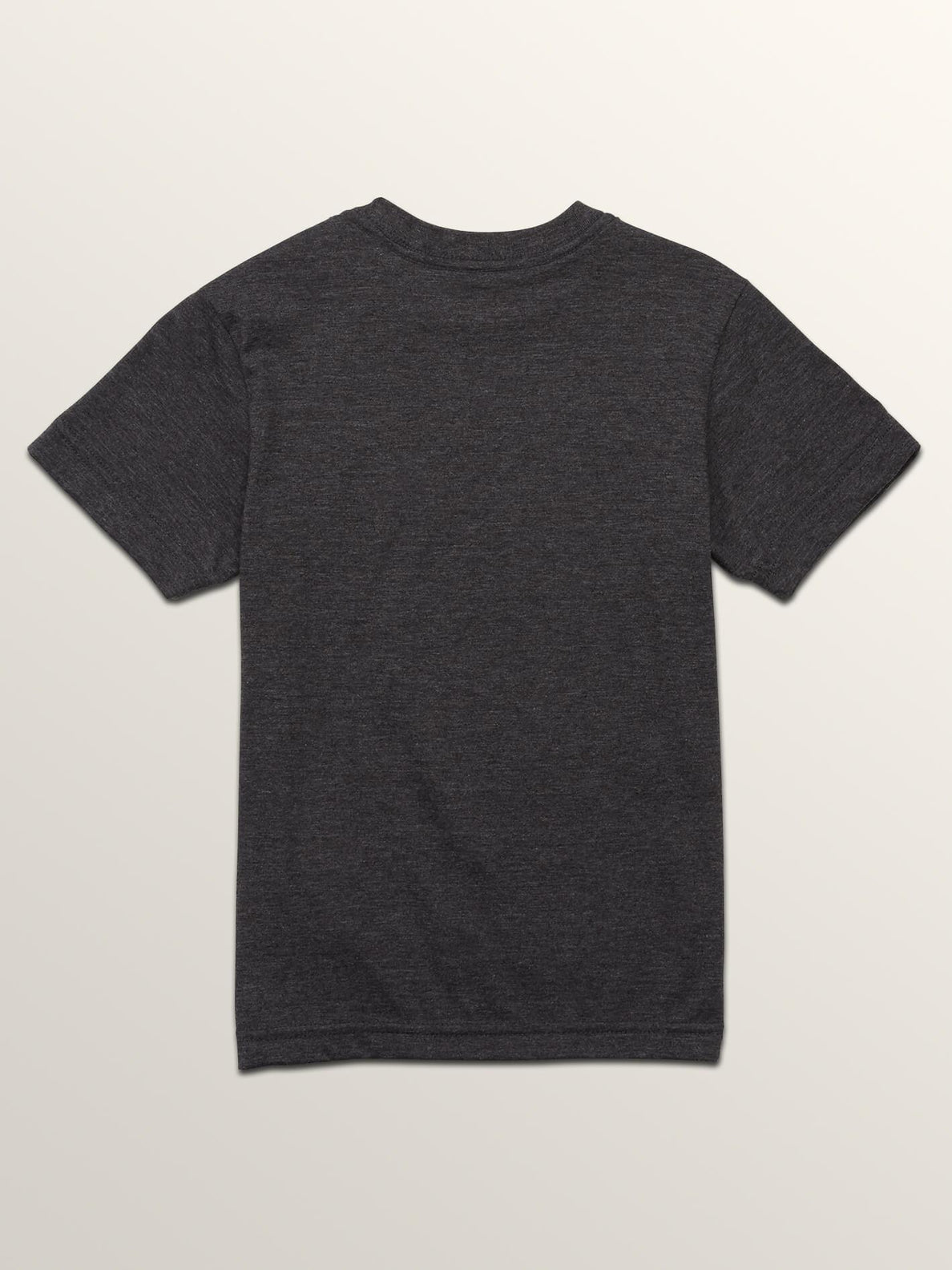 Little Boys Stence Short Sleeve Tee In Heather Black, Back View