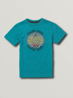 Little Boys Swirld Short Sleeve Tee - Chlorine (Y5741900_CHL) [F]