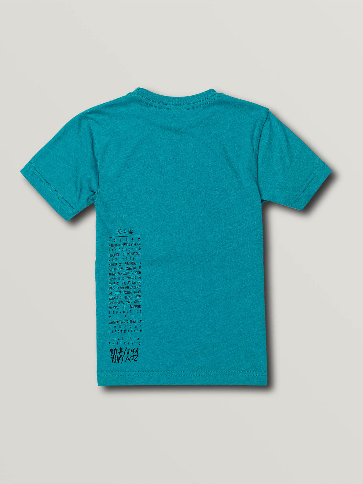 Little Boys Save Our Oceans North Shore Short Sleeve Tee - Chlorine (Y5741914_CHL) [B]