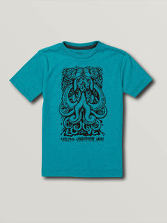 Little Boys Save Our Oceans North Shore Short Sleeve Tee - Chlorine (Y5741914_CHL) [F]