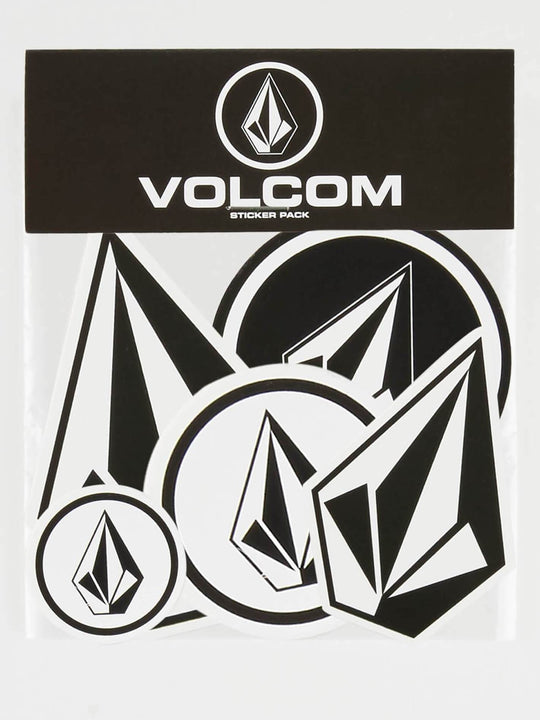 Volcom Stone Sticker Pack - Black White