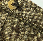 NEW Burberry London Men Khaki Brown Green Virgin Wool Trousers Size IT48 Medium