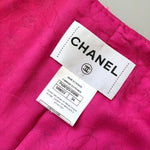 NEW Chanel Summer Pink White Lace Lesage Tweed Jacket Blazer Size XS 34 US 0 2