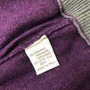 Loro Piana Women Purple CASHMERE Silk Knit Hooded Jumper Sweatshirt Size S IT42