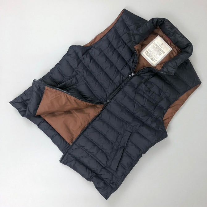 RARE Brunello Cucinelli Men GOOSE DOWN Puffer Gilet Vest Bodywarmer Size L IT50