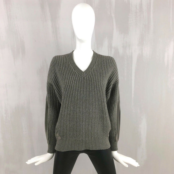 Brunello Cucinelli Oversize Chunky CASHMERE Wool Silk Jumper Sweater Pullover XS