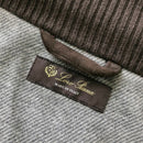 $5000 Loro Piana Men Cashmere STORM SYSTEM Removable Hood Bomber Jacket Coat