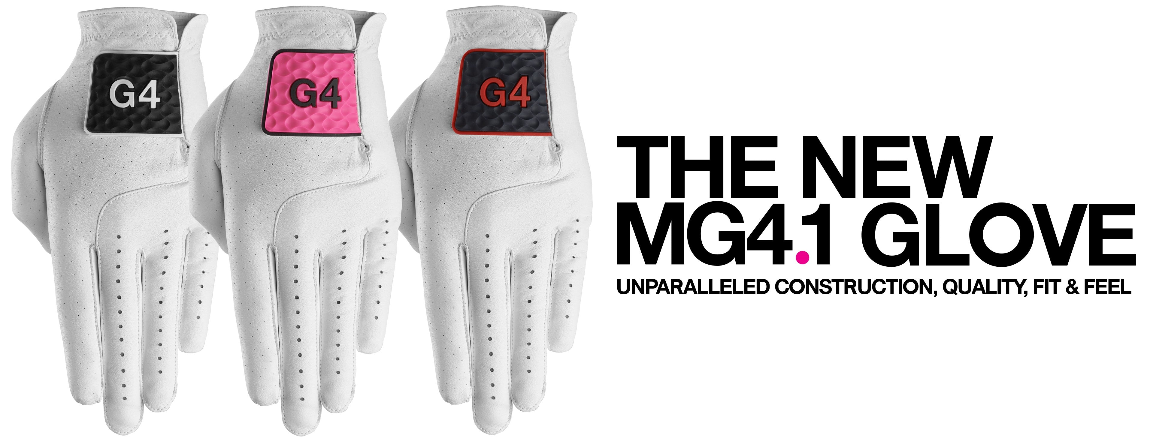 GFORE - Colored, Cabretta Leather Golf Gloves – G/Fore